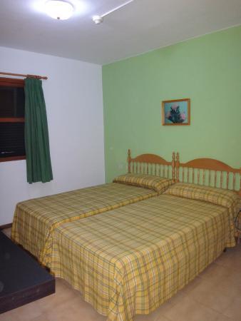 Lago Azul: chambre