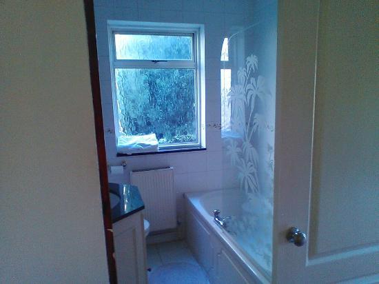 Lyttleton Lodge : Łazienka trochę chłodna, bo problem z domykaniem okna i słabo leci woda z prysznica.
