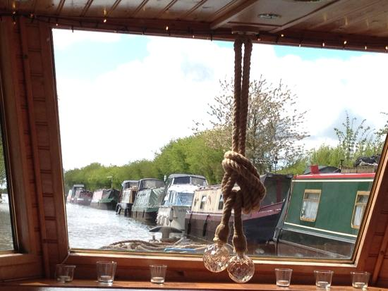 Canal Boat Cruises of Riley Green: View forward