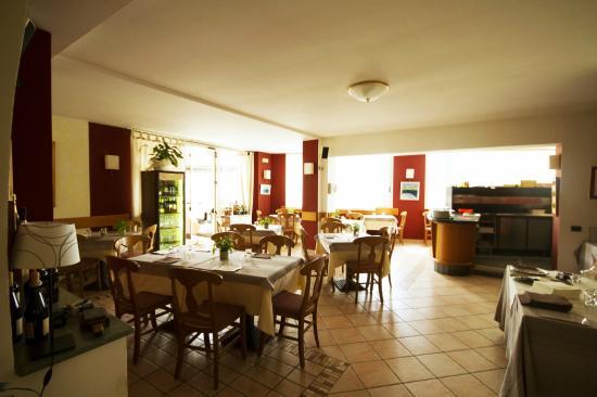 Albergo Lario: Sala ristorante interna
