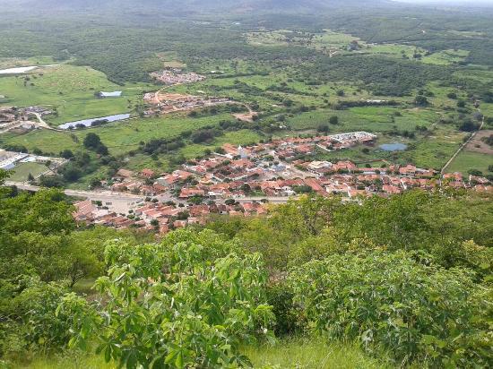 Vista do Encanto da Serra do Encanto (o A de paz)