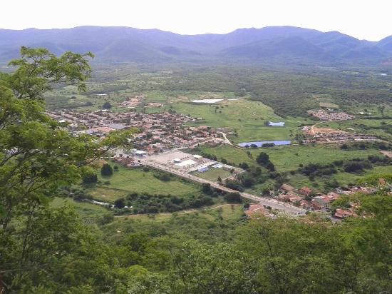 Vista do Novo Encanto da Serra do Encanto (o P de paz)