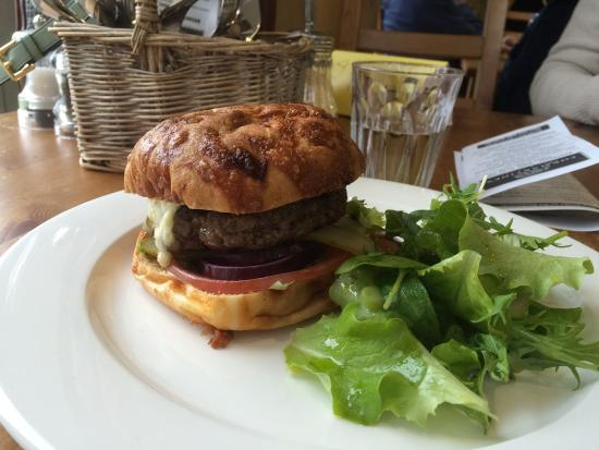 Formartine's: Gluten free burger