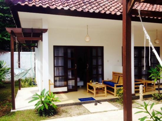Casus Dream Hotel: Room from outside