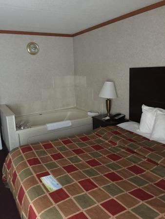 Days Inn & Suites Madison Heights MI: Hot tub