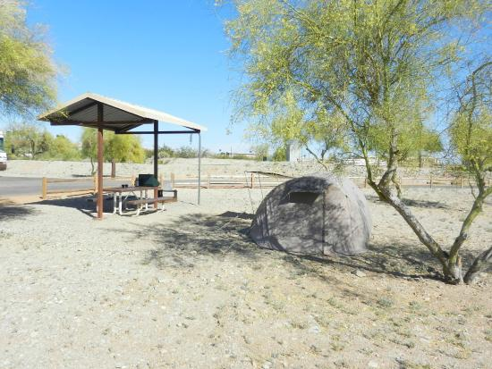 Black Rock Campground : Onze plaats op de campground