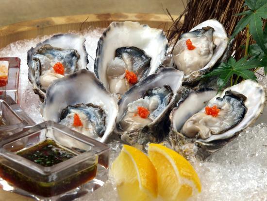 Nama Kaki Ponzu Fresh Oysters Picture Of Ozeki Tokyo Cuisine
