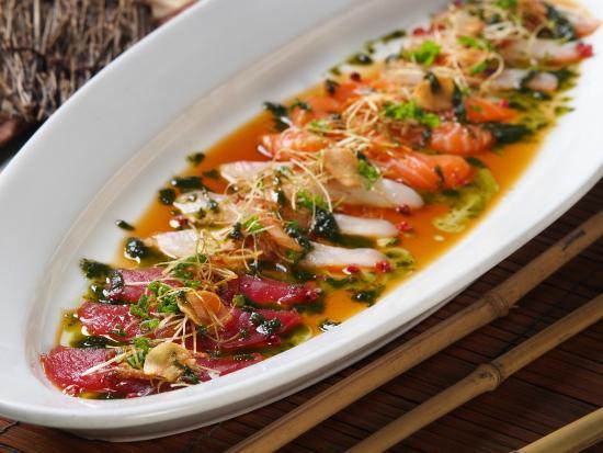 new style sashimi signature dish italian japanese