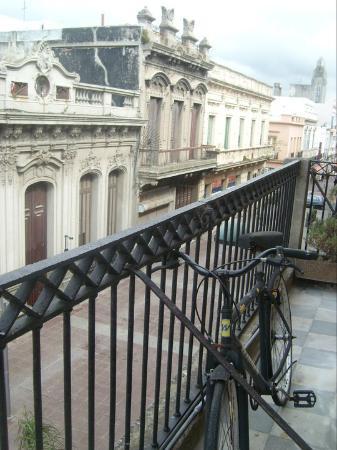 Posada al Sur: Ciudad Vieja desde el balcón