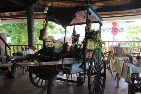 Hippocampus Beach Resort: Restaurant
