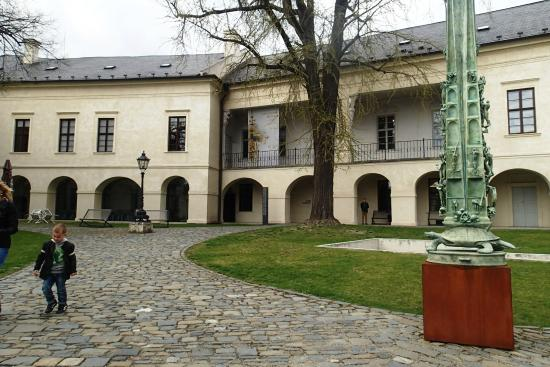 Olomouc Archdiocese Museum: The building that houses lots of artefacts