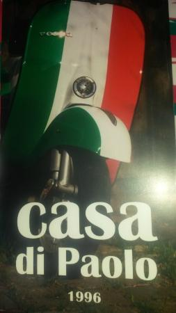 Casa di Paolo : Nouvelle carte nouveau look