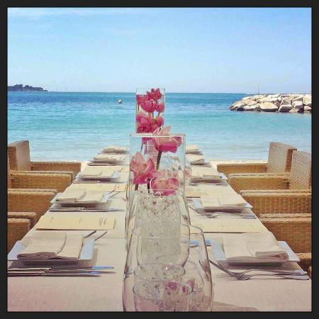 L'Ecrin Plage : restaurant