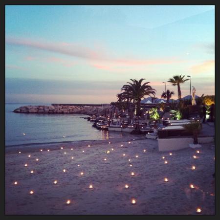 L'Ecrin Plage : plage nuit