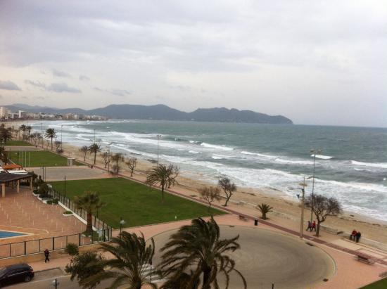 Hipotels Hipocampo Playa Hotel: Blick vom Balkon