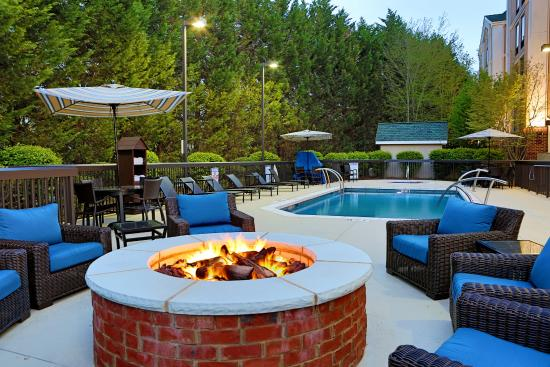 Hampton Inn & Suites Asheville-I-26: Fire Pit and Pool