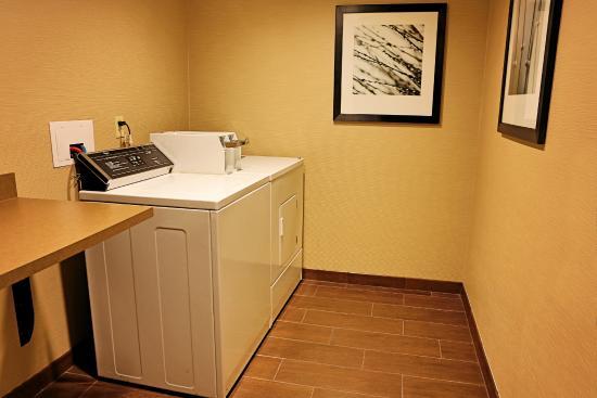 Hampton Inn & Suites Asheville-I-26 : Guest Laundry