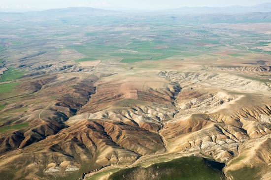 Art Residence : aerial view of Cappadocia