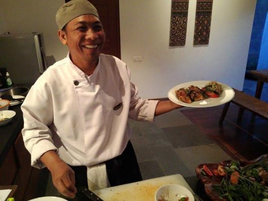 Luwak Ubud Villas: Chef Wayan