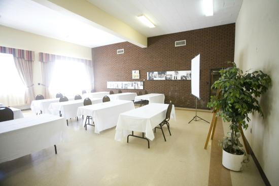 St Augustin de Desmaures, Canadá: L'une des nombreuses salles à louer du pavillon André-Coindre