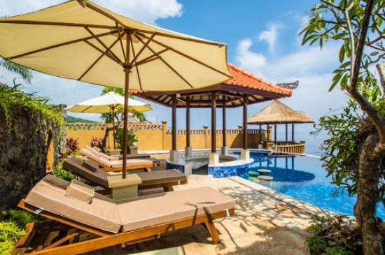 pool patio picture of villa candi matahari amed tripadvisor