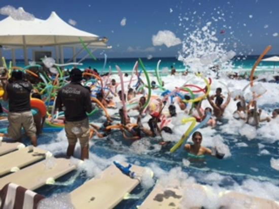 Hard Rock Hotel Cancun Foam Party