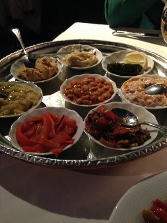 Armada Terrace Restaurant: Antipasti