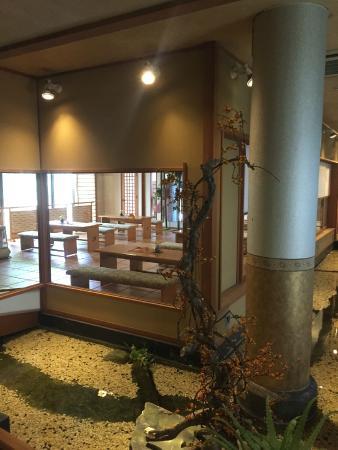 Shosenkaku Kagetsu: Reception area