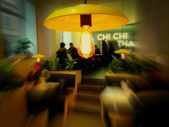 Chi Chi Thai: Der Blick in unser Gastraum