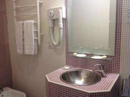 El Rey Moro Hotel Boutique Sevilla: Vista do banheiro
