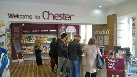 ‪Chester Visitor Information Centre‬