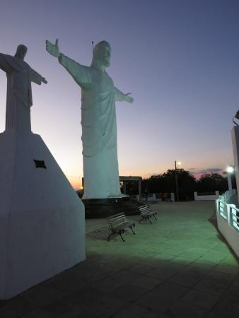 Barra Velha, SC: Estátua do Cristo
