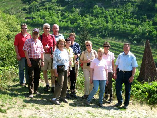 Taushof Hotel: wöchentlich geführte Wanderung mit der Seniorchefin