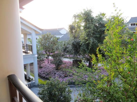 Gurong Hotel : View from our room