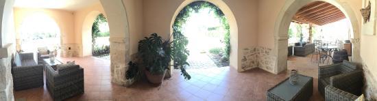 La Casa di Melo: patio