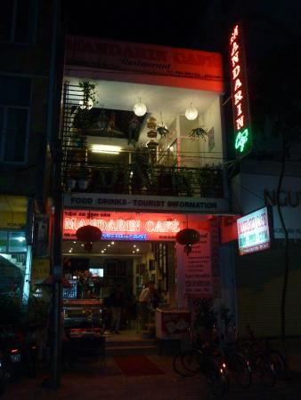 The Mandarin Cafe at Night