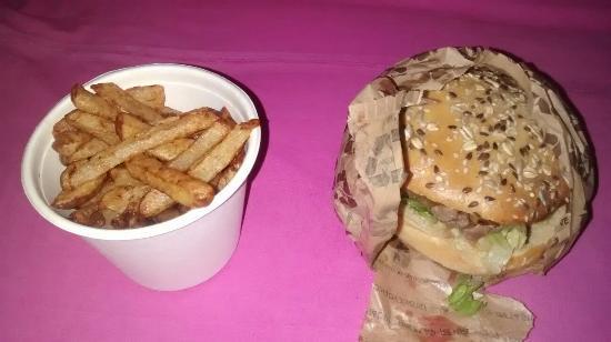 Burger a La Une