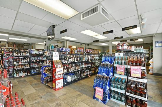 The Hospitality Inn: Liquor Store