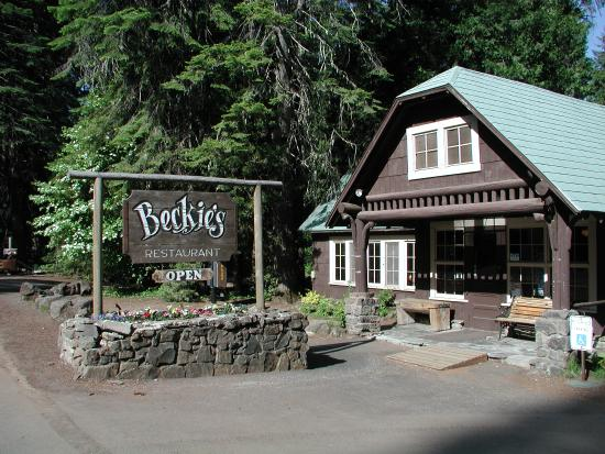 Beckie's Cafe : Beckie's Exterior