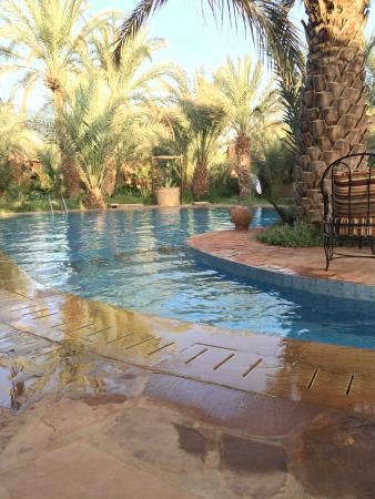 La Rose Du Desert: Piscine fabuleuse