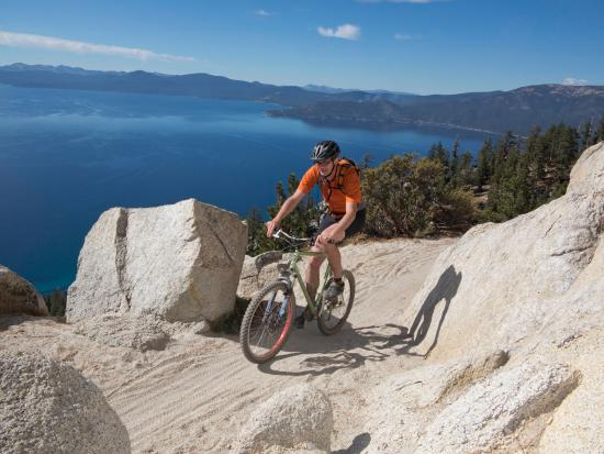 Reno, NV: Biking the Lake Tahoe Flume Trail