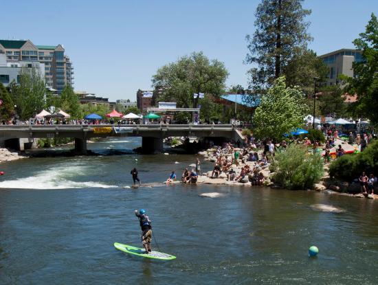 Reno, NV: Truckee River Whitewater Park at Wingfield Park