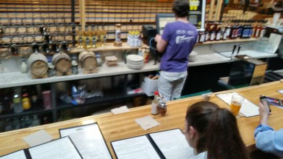 Flatbread Pizza Company: The Bar Serves Full Menu