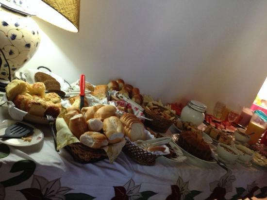 Pousada e Restaurante Vettore: Café da Manhã