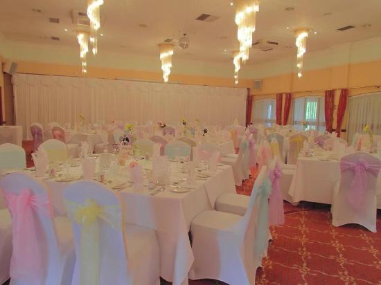 The Parkway Hotel & Spa: Wedding breakfast