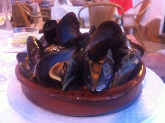 Na Ruixa: Förrätt - musslor