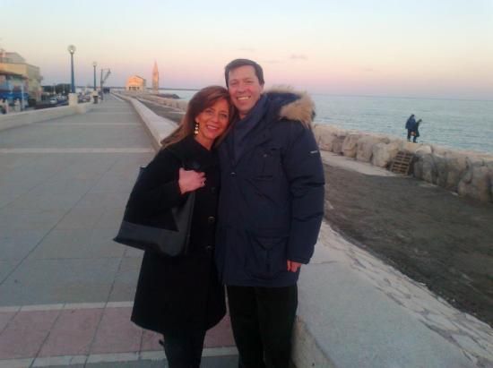 Spiaggia di Levante : Un pomeriggio di febbraio