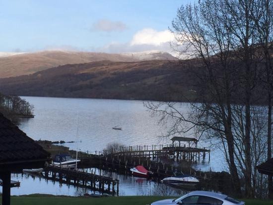 Loch Tay from the Bistro