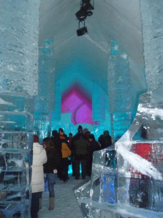 Hotel de Glace Ice Bar: Ice Hotel Bar