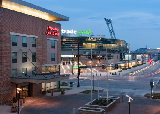 Hampton Inn & Suites Omaha - Downtown: Hampton Inn Omaha Downtown across from TD Ameritrade Park